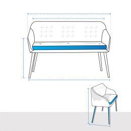 Custom Bench Covers - Design 7