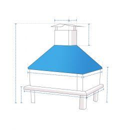 Custom Chiminea Cover - Design 6
