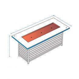 linear firepit cover design 2