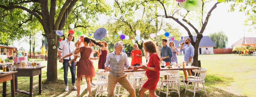 5 Festive Outdoor Theme Parties to Host This Spring