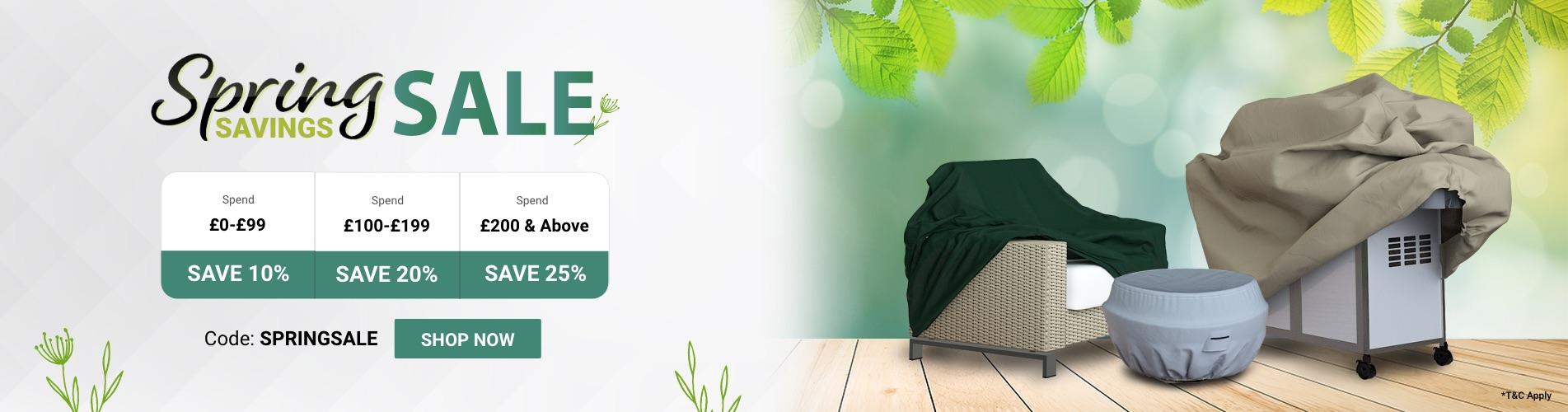 Spring/Autumn Savings Sale
